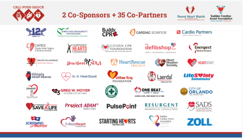 Call-Push-Shock co-sponsors and co-partners
