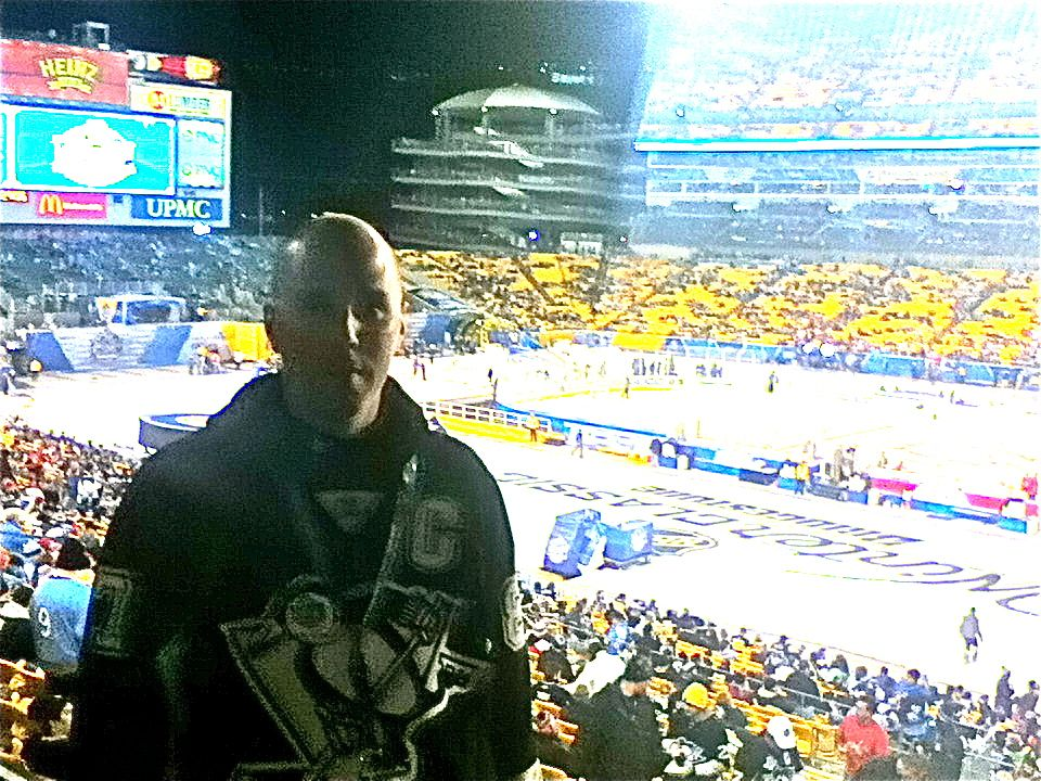 Matt Abel, Winner of Winter Classic Ultimate Fan Experience