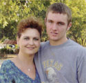 Lisa Byers with her son Braxton